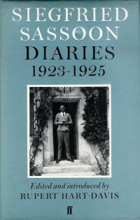 Siegfried Sassoon Diaries 1923-1925