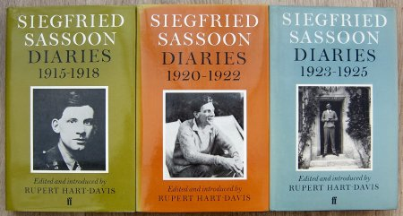 Siegfried Sassoon Diaries