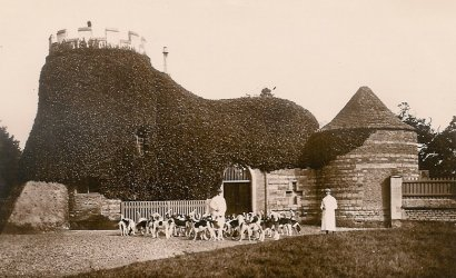 Kennels at Milton 1900s
