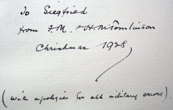 Illusion 1915 Inscription