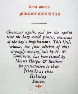 Illusion 1915 Xmas Message