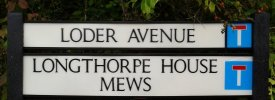 Loder Avenue Sign