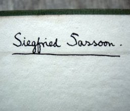 Siegfried Sassoon's Signature
