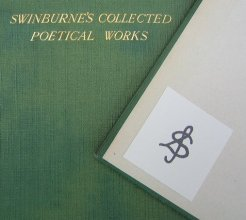 Swinburne's Collected Poetical Works Monogram