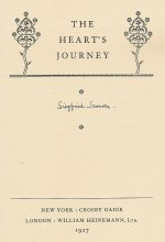 The Heart's Journey Signed Limited Edition 1927