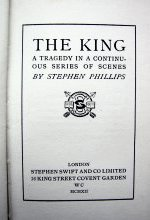 The King Title Page