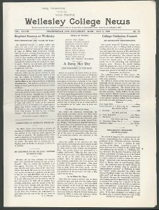 Wellesley College News 1920
