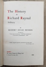 The Hustory of Richard Raynal - Solitary: Title