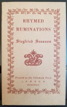Rhymed Ruminations Limited Edition